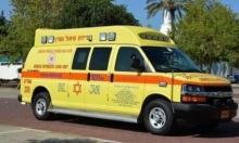 إصابة خطيرة في حادث طرق قرب جلجولية