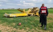 إصابة في تحطم طائرة بالنقب