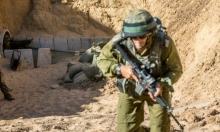 تدريب عسكري إسرائيلي يحاكي قتالا داخل أنفاق المقاومة في غزة