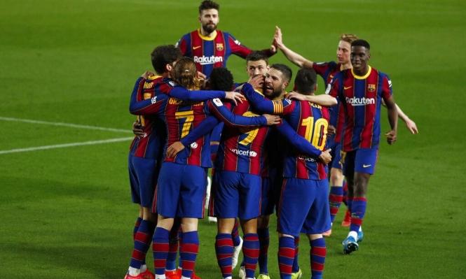 بريمونتادا:برشلونة يبلغ نهائي كأس الملك على حساب إشبيلية