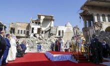 البابا يختتم جولته في العراق بأكبر قداس