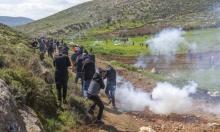 مواجهات مع المستوطنين بالضفة والاحتلال يحاصر وادي الربابة