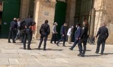 وسط قيود مشددة على الفلسطينيين: 134 مستوطنا وشرطيا يقتحمون الأقصى