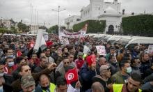 تونس: مئات عناصر الأمن يحتجّون أمام مقر الحكومة
