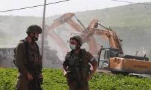جيش الاحتلال يهدم منزلين شمالي الضفة