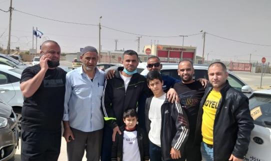 الأسير محمد مصري من جلجلولية ينال حريته