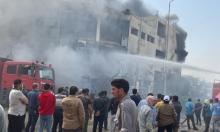44 قتيلًا وجريحا إثر حريق مصنع القليوبية في مصر