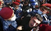أرمينيا: متظاهرون يحاصرون مقرّ رئاسة الوزراء