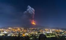 في أقل من شهر: بركان إتنا يعاود الثوران