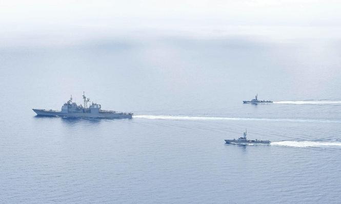 دورية بحرية أميركية - إسرائيلية مشتركة في شرق البحر الأبيض المتوسط