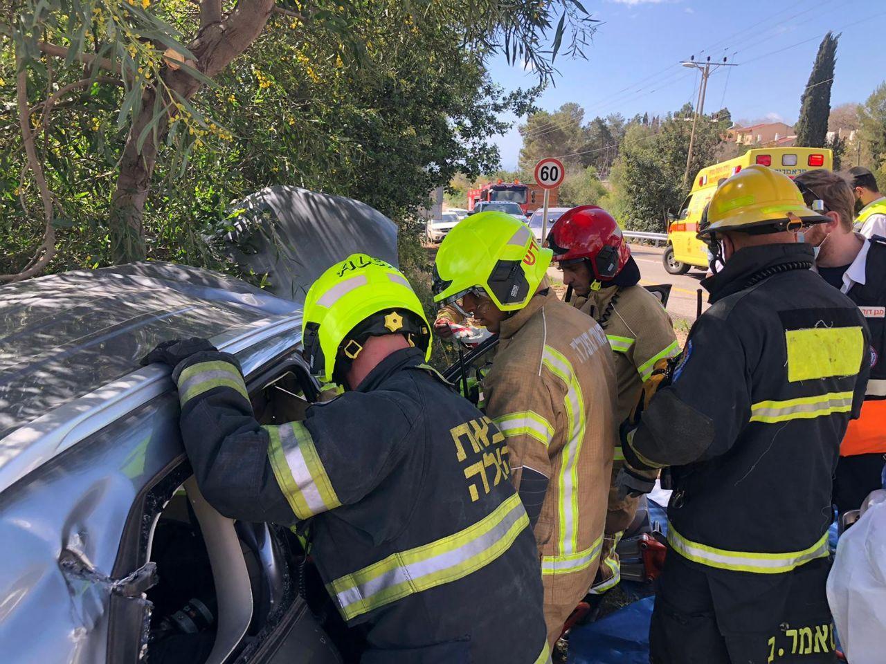 مصرع رجل وامرأة في حادث طرق بالقرب من نهريا