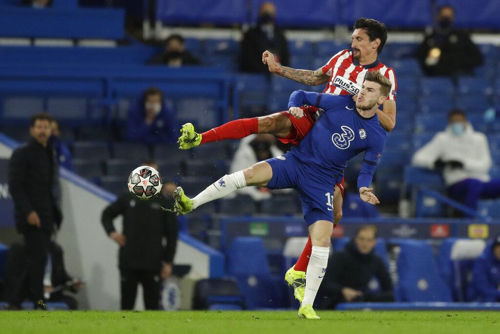 تشيلسي يجرد أتلتيكو مدريد من دوري الأبطال