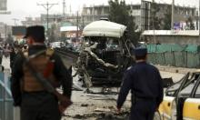 عشرات القتلى والجرحى بتفجير حافلة وإسقاط مروحية بأفغانستان