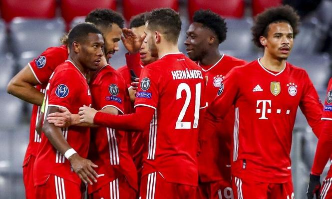 دوري الأبطال: بايرن ميونخ يتأهل لربع النهائي