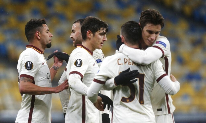الدوري الأوروبي: روما يتأهل إلى ربع النهائي بعد تغلبه على شاختار