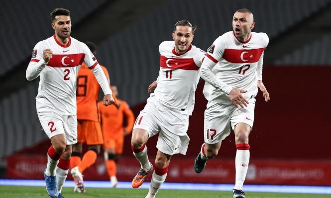 التصفيات المؤهلة لنهائيات كأس العالم: تركيا تتخطى هولندا برباعية