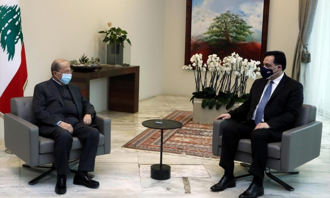 """دياب يكشف عن وجود """"مواد نوويّة خطرة"""" في منشآت نفط بجنوب لبنان"""