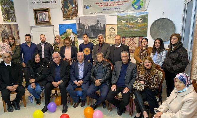 """""""الأرض بتتكلم عربي"""": معرض فني بمناسبة ذكرى يوم الأرض"""