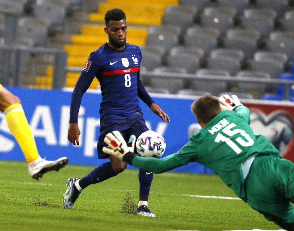 تصفيات مونديال 2022: فرنسا تهزم كازاخستان بهدفين