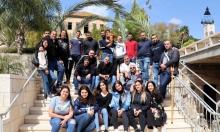 كنيسة البشارة للاتين في الناصرة تحتفل بأحد الشعانين