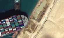 قناة السويس: إعادة تعويم السفينة مرّة أخرى وانتظام حركة السفن