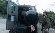 اعتقالات بالضفة والقدس وتوغل محدود بغزة