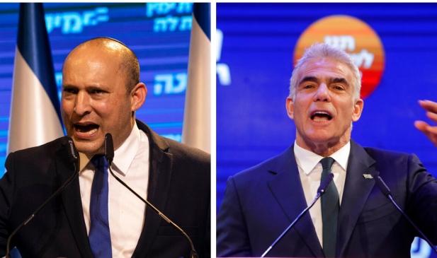 لبيد يطلب دعم القائمة المشتركة لتشكيل حكومة برئاسة بينيت