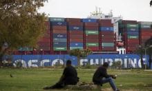 استمرار انخفاض السفن العالقة في قناة السويس