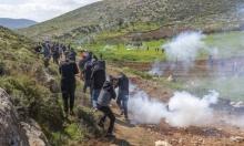 اقتحام نابلس: إصابة خمسة شبان برصاص الاحتلال الحيّ