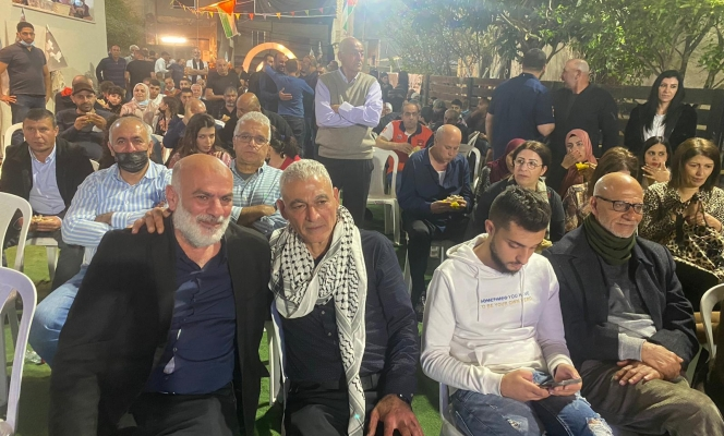 باقة الغربية: المئات يشاركون بالمهرجان الاحتفاليّ بمعانقة الأسير رشدي أبو مخ للحرية