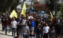 تشييع جثمان الشهيد أسامة منصور في بلدة بدّو قرب القدس