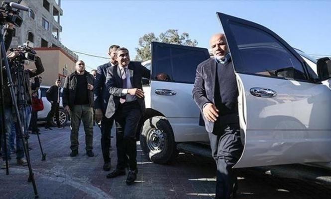 وفد أمني مصري يصل غزة بشكل مفاجئ