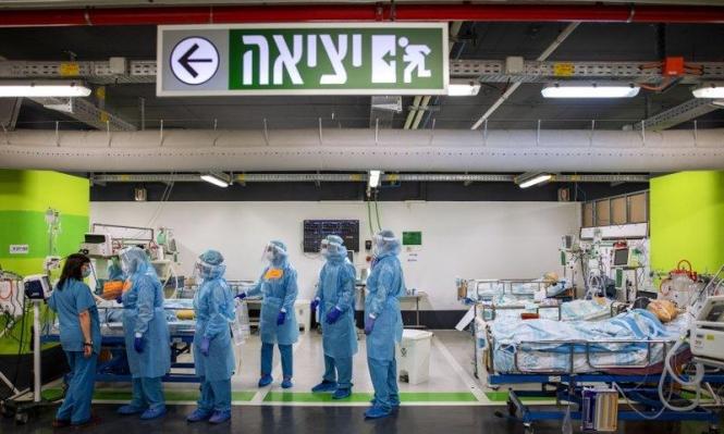 الصحة الإسرائيلية: 5042 حالة نشطة بتسجل 375 إصابة جديدة بكورونا