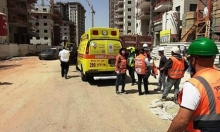 الرملة: إصابة خطيرة لعامل دهسته شاحنة