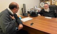 """أبو شحادة يطالب وزير الإسكان بمعالجة ملف """"عميدار"""" وسياساتها في يافا"""