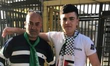 أصغر معتقل إداري فلسطيني يعانق الحرية