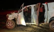 إصابة خطيرة لشاب في حادث طرق قرب أبو قرينات بالنقب