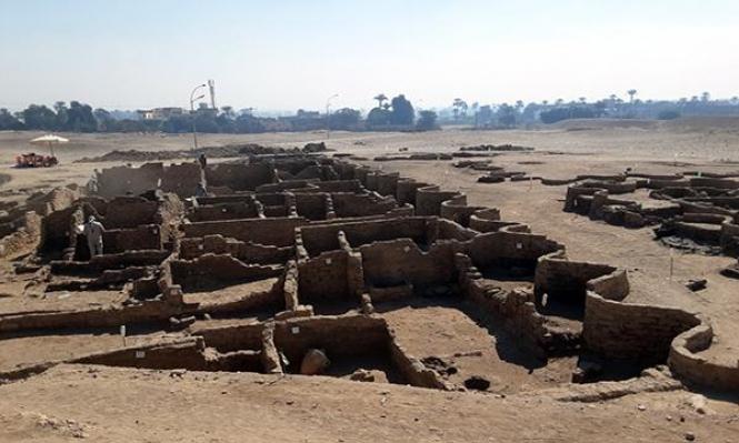 تفاصيل عن مدينة الحرفيين المُكتشفة في الأقصر