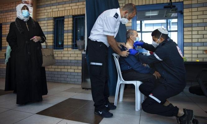 محطات فحص كورونا في بلدات عربية وسط تحسن في الحالة الوبائية