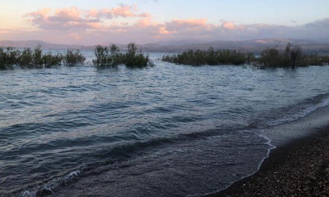 30.5 سم لامتلاء بحيرة طبرية