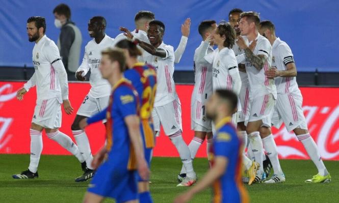 كلاسيكو الأرض: ريال مدريد يحقق الفوز على برشلونة