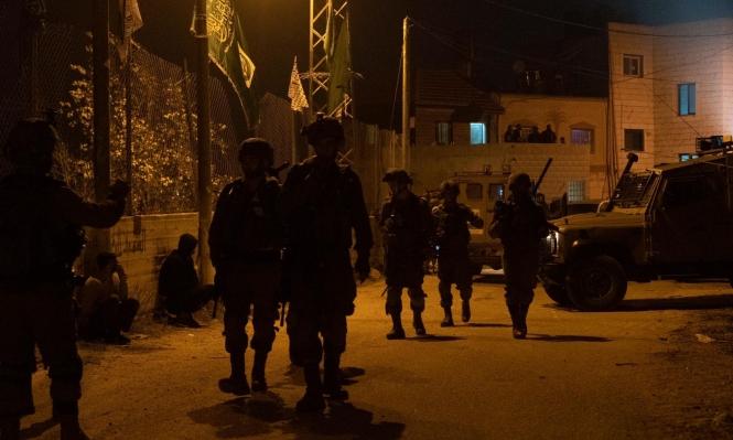 اعتقال 24 فلسطينيا بالضفة والقدس بينهم قيادات في حماس