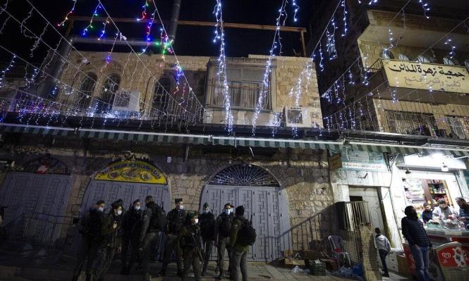 زينة رمضان وجنود الاحتلال في أسواق القدس