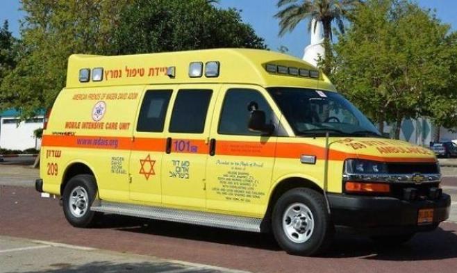 إصابة خطيرة لشاب في حادث دهس قرب حيفا