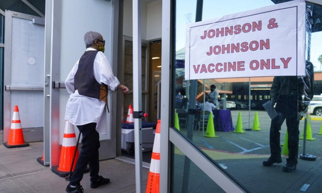 """""""جونسون آند جونسون"""": وفاة شخص بأميركاوتأجيل إطلاق اللقاح في أوروبا"""