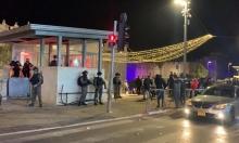 مواجهات بالقدس ورشق حافلات للمستوطنين قرب ساحة البراق