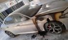 إطلاق نار وإحراق سيارة رئيس اللجنة الشعبية في نحف