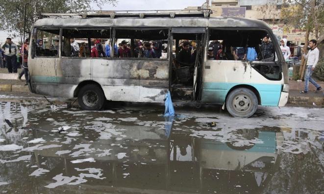 مقتل مدني وإصابة 14 آخرين بانفجار شرقيّ بغداد
