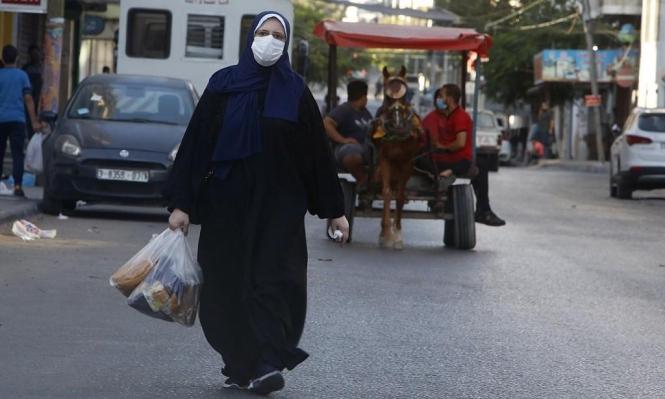 غزة: 5 وفيات و1162 إصابة جديدة بكورونا