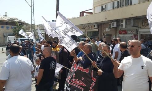"""يافا: تواصل الاحتجاج ضد سياسات شركة """"عميدار"""""""